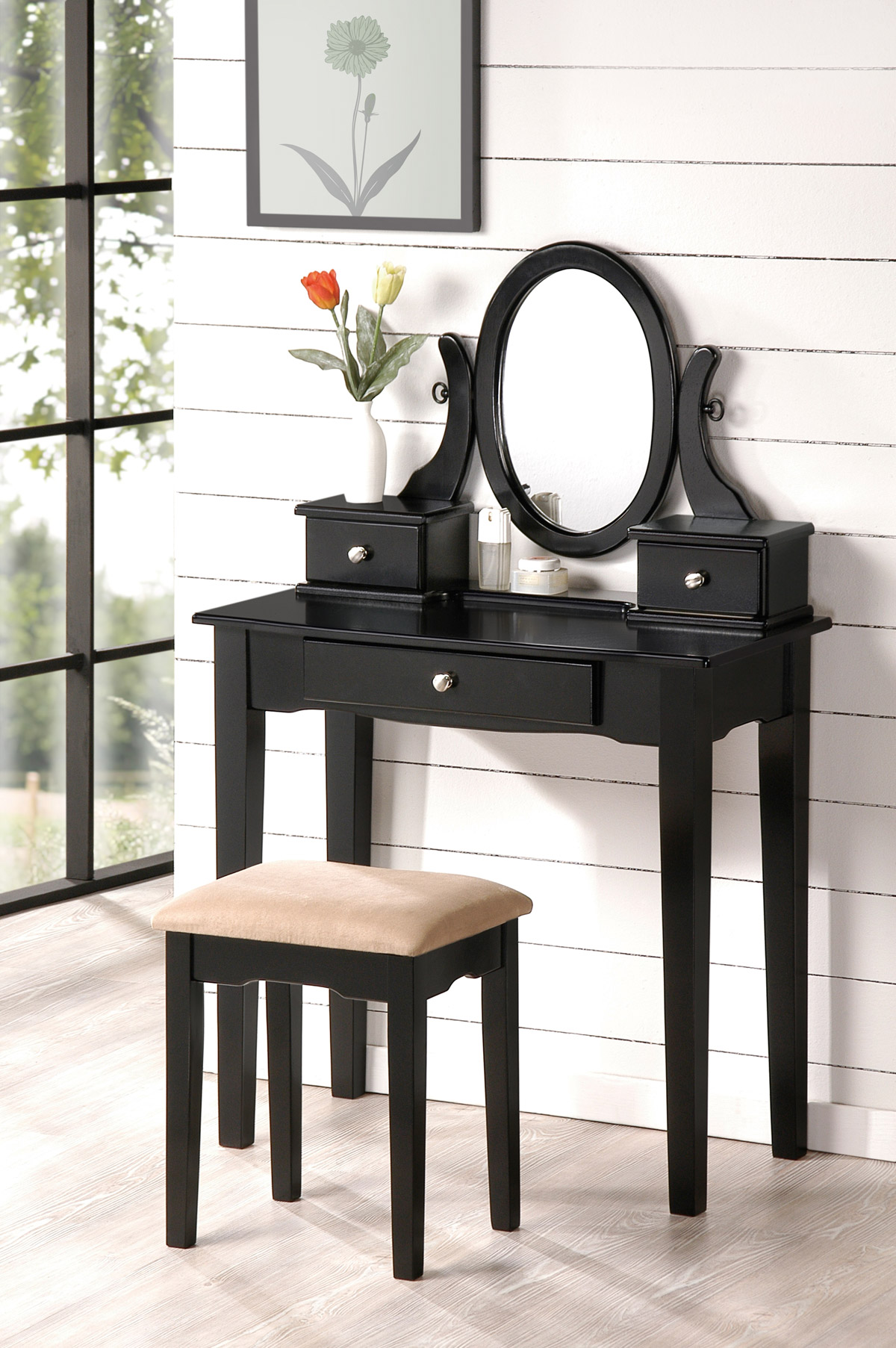 Bedroom Vanity HomeMajestic -  bedroom vanity with drawers in design