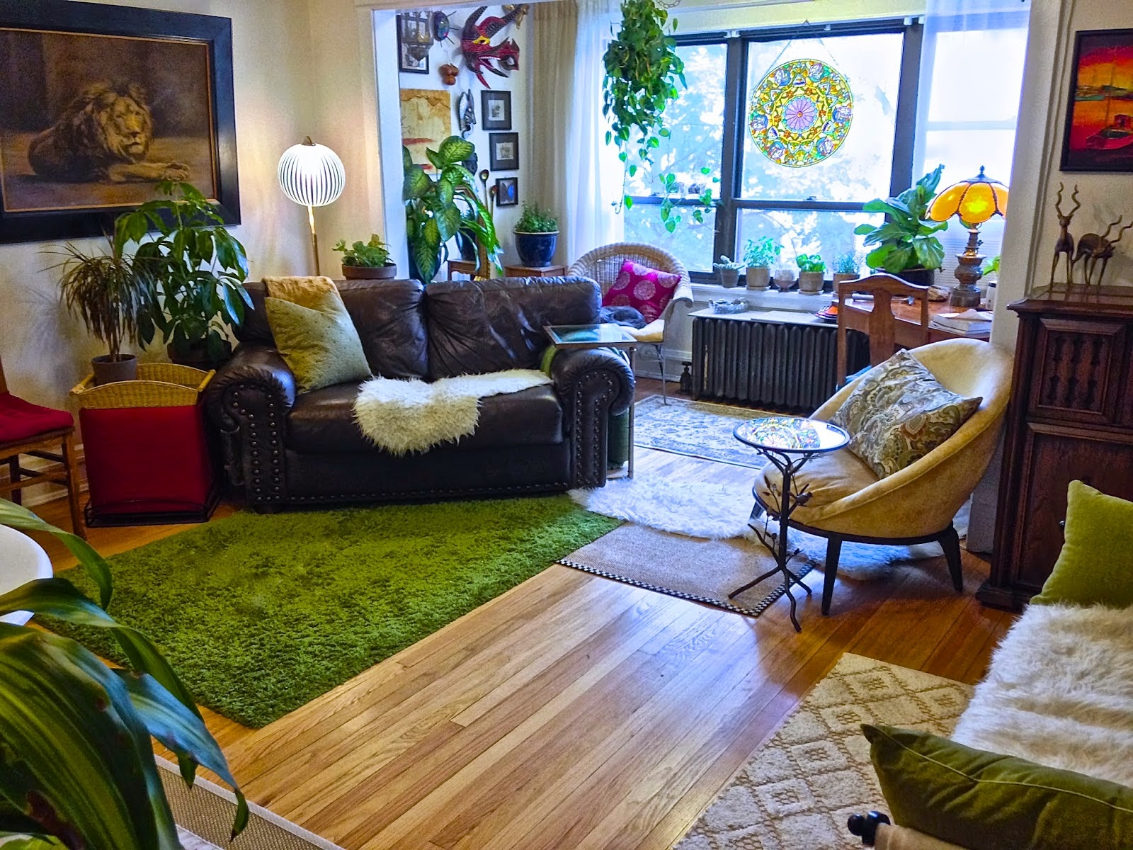 ms tungstens beautiful bohemian home eclectic sitting room