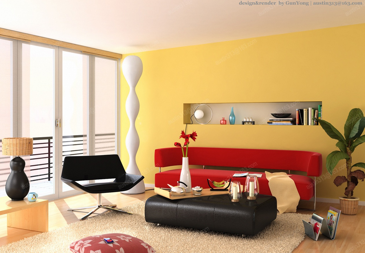 Yellow Rooms - HomeMajestic