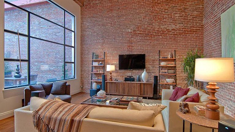 Interior Brick Home Design Ideas and Pictures