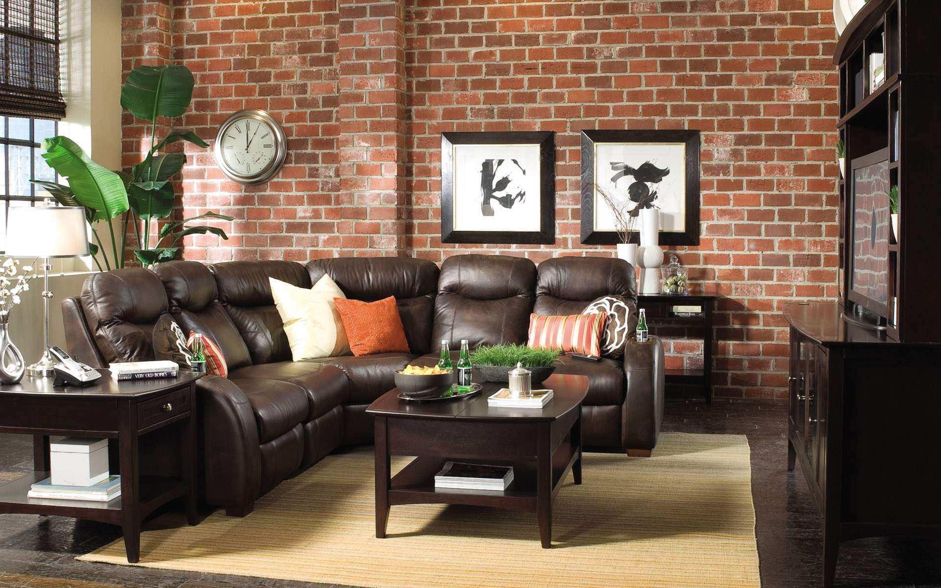 brick houses-interior - homemajestic
