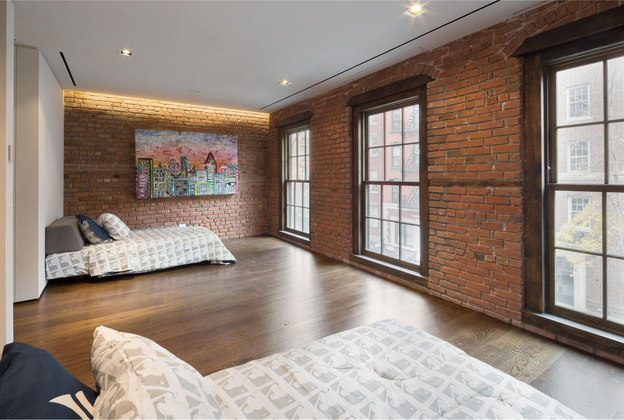 brick houses-interior - homemajestic