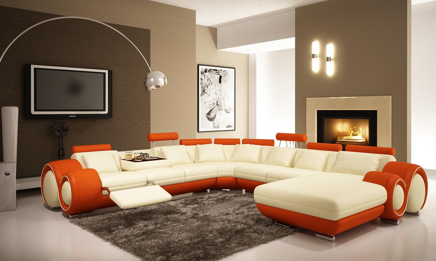 modern living rooms and technology for it homemajestic