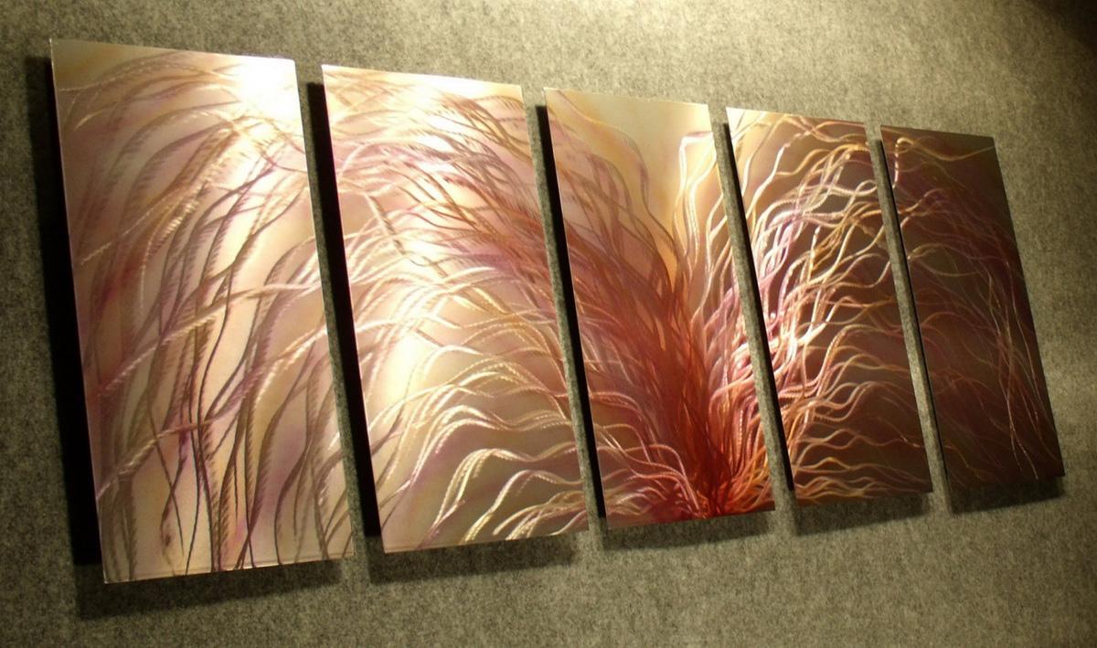red-hair-metal-arts-contemporary-wall-art-decor