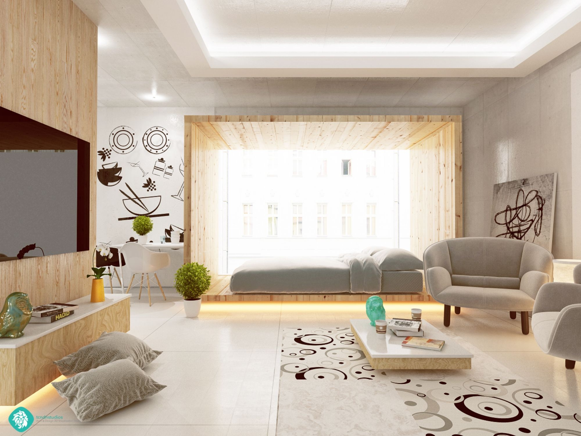 sunny-studio-apartment