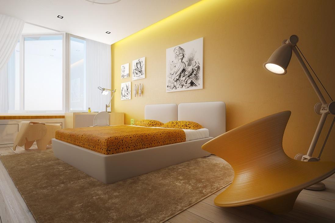yellow rooms - homemajestic