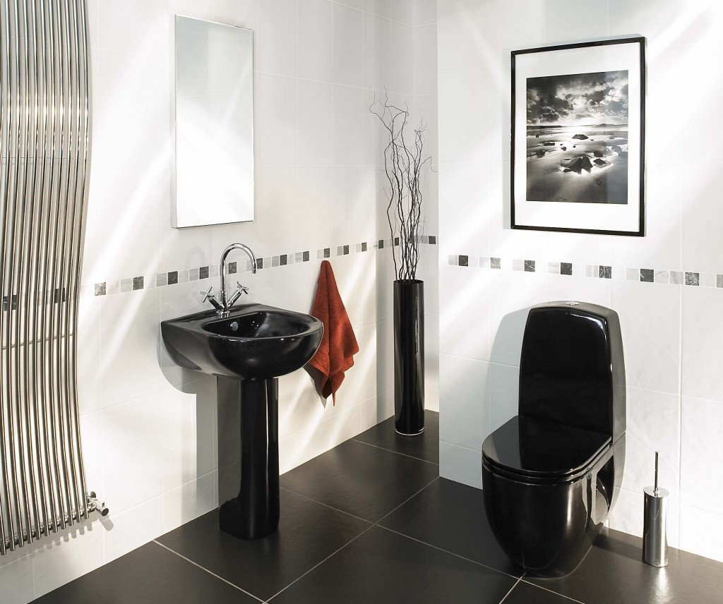 Cheap Bathroom Suites Black And White Bathroom Ideas