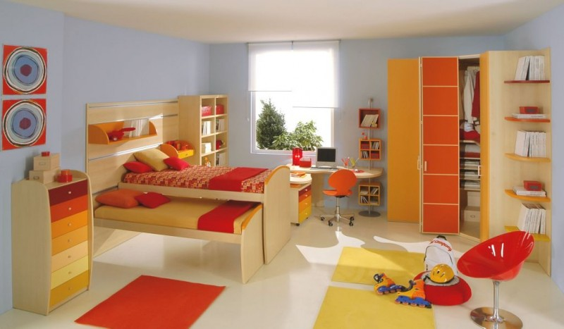 delightful-loft-bed-decorating-ideas-4-girls-double-bed-room-800-x-467