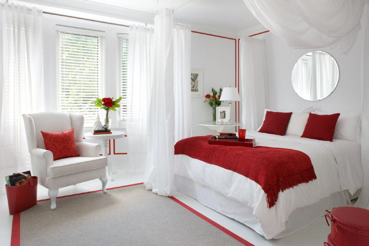 How to make your bedroom feel more romantic homemajestic for Bedrooms and more