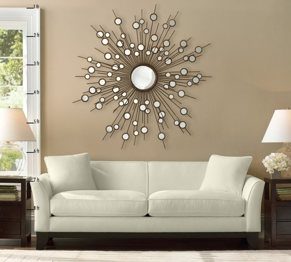 Exciting Wall Decoration Feng Shui Living Room Ideas