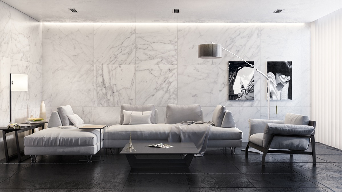 monochrome-marble-living-room