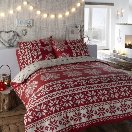 adorable christmas bedroom decor ideas 30