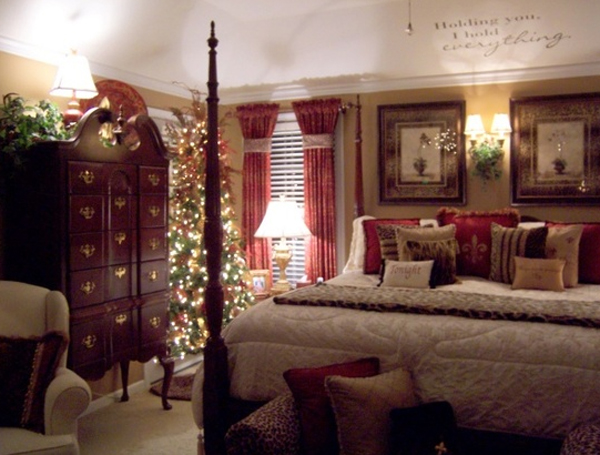 Modern Christmas Master Bedroom Design Ideas Part 65